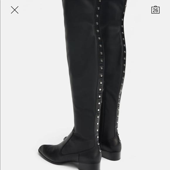 d57840af57e Zara over the knee boots 2019